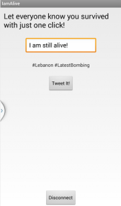 I am Alive application